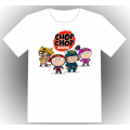 Chop Chop Ninja ENFANT - blanc
