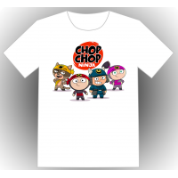 Chop chop ninja TEEN & ADULT - White