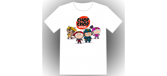 Chop Chop Ninja ADO & ADULTE - blanc